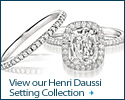 Henri Daussi Engagement Ring Collection