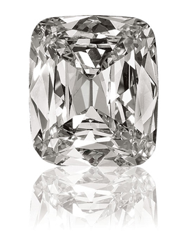 Henri Daussi Cushion Cut Diamond