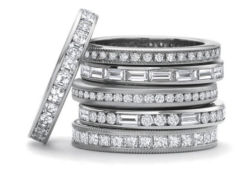 Precision Set Eternity Rings