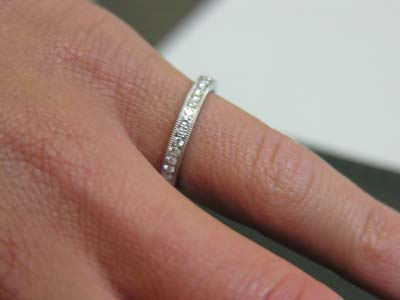 Round Diamond Eternity Band 1/2ct total weight