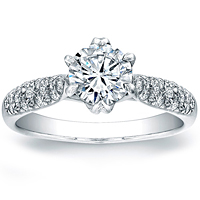 Vatche Pave Set Royal Crown Setting 121