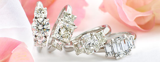 Create your own designer engagement ring