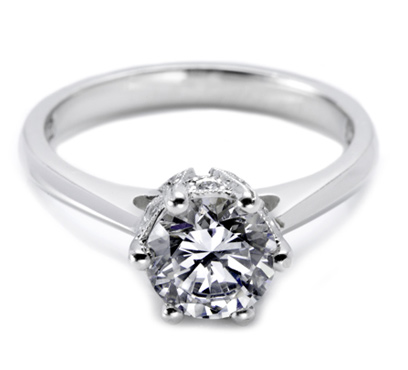Tacori pave setting 2501RD7