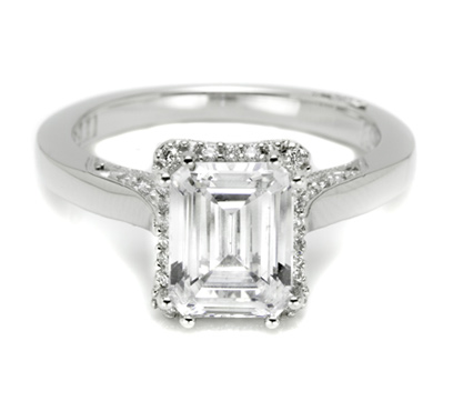 Tacori with Pave Set Diamonds 2620ECLG