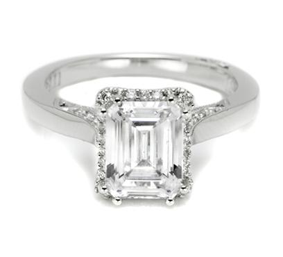 Tacori with Pave Set Diamonds 2620ECLG