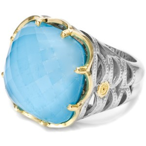 Tacori 18k925 Neolite Turquoise Ring