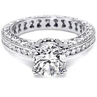 Tacori Channel-Set and Pave Diamond Setting