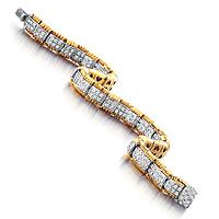 Roberto Coin Appassionata Bracelet with Diamond Center
