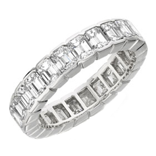 Cut Diamond Eternity Ring