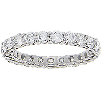 Round Brilliant Diamond Eternity Ring