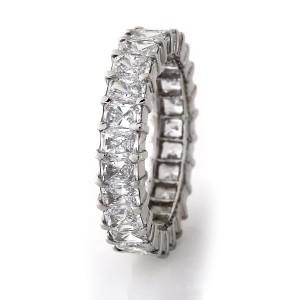 Radiant Cut Diamond Eternity Ring