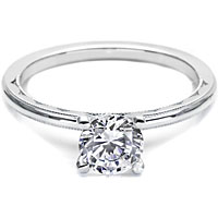 Tacori Solitaire Setting w/ Milgrain Edge