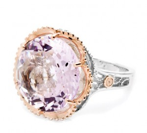 Rose Amethyst Ring