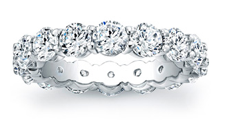Custom Diamond Eternity Rings