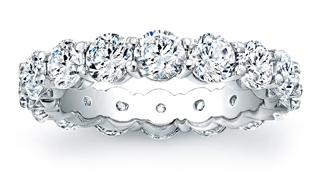 Custom Diamond Eternity Rings