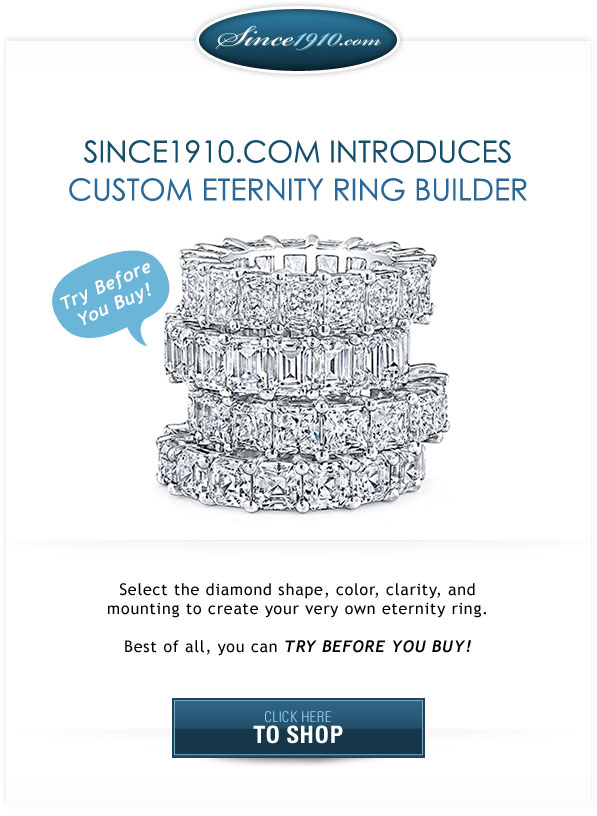 Try Before You Buy Diamond Eternity Rings Builder
