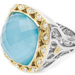Tacori Blue Barbados Cocktail Ring