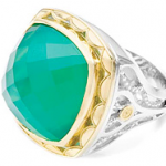 Tacori Green Onyx Ring