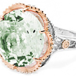 Tacori Prasiolite Cocktail Ring