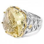 Tacori Lemon Quartz Cocktail Ring