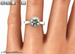 Tacori 2620rd handview