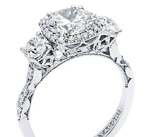 tacori engagement ring 542cu - Tacori Wedding Rings
