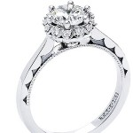 Tacori Diamond Ring 592RD