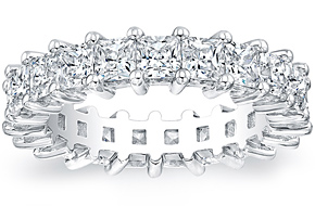 Princess Cut Eternity Ring - 0.20ct