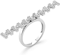 Dana Rebecca 'Reese Brooklyn' Diamond Bar Ring
