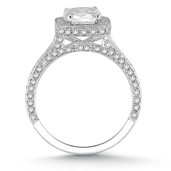 Cushion Cut Diamond Cushion Cut Diamond Engagement Settings