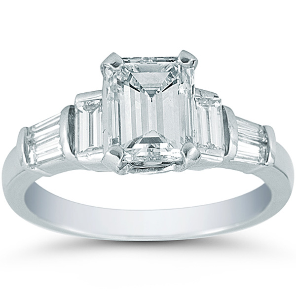 Ring Settings Diamond Ring Settings Emerald Cut