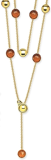 18k Gold and Citrine Necklace By Chimento