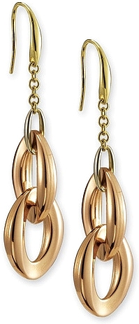 18k Gold Dangle Earrings by Chimento