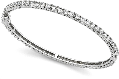 bracelet diamond bangle white hannoush bangles gold jewelers ny