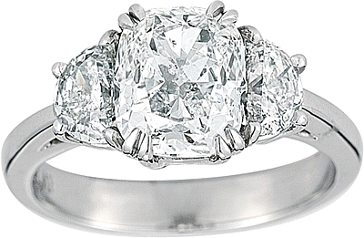 platinum engagement diamond rings ring solitaire round birks en angle