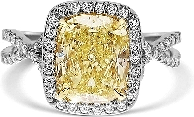 ... Fancy Yellow Diamond Engagement Ring. (0 Reviews) Write A Review. VIEW  PHOTOS