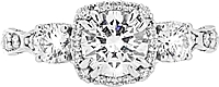 .54ct GIA G/SI2 Round Brilliant Cut Tacori Diamond Engagement Ring