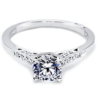 .75ct Round Brilliant GIA I/SI2 Tacori Engagement Ring