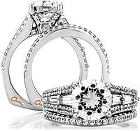 A Jaffe Wedding Rings