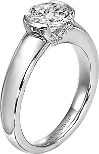 "Art Carved ""Rachel"" Diamond Engagement Ring Setting"