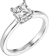 "Art Carved ""Taryn"" Diamond Engagement Ring"