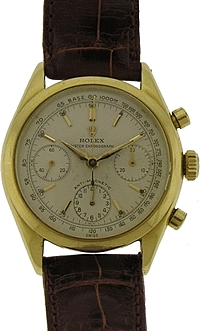 Certified Pre-Owned Vintage Rolex 18k Anti-Magnetic Chronograph