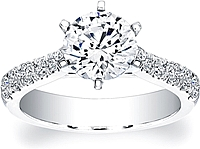 Coast Diamond 6-Prong Diamond Engagement Ring