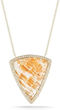 Dana Rebecca 'Courtney Lauren' Diamond & Quartz Necklace