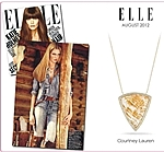 Courtney Lauren as featured in Elle Magazine!