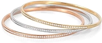 Dana Rebecca Diamond Stacking Bangles