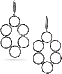 Dana Rebecca 'Emily Meredith' Black Diamond Earrings