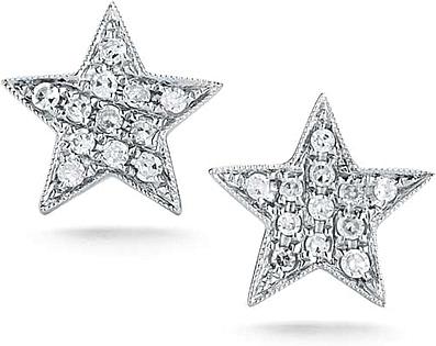 Dana Rebecca Julianne Himiko Diamond Star Earrings Dr E798