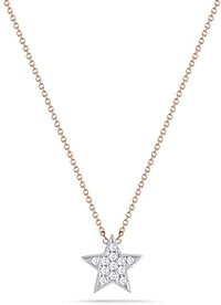 Dana Rebecca 'Julianne Himiko' Diamond Star Necklace