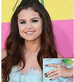 'Karly Beth' as seen stacked on Selena Gomez!